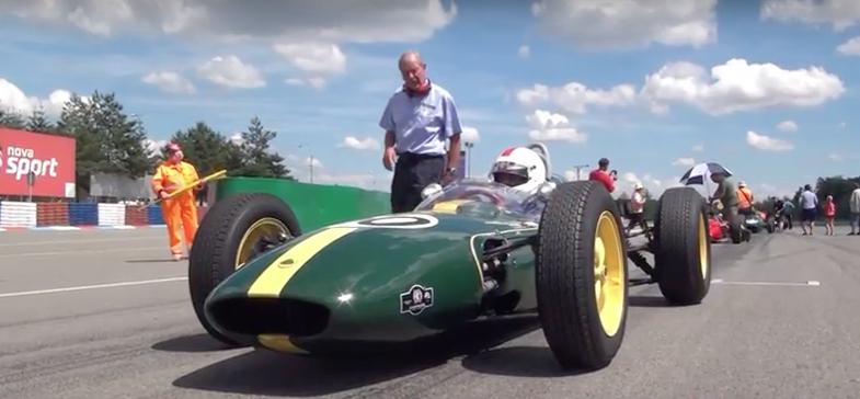 Video HGPCA Race for Pre 1966 Grand Prix Cars